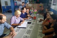 Secretaria Itinerante atendeu dez escolas do município