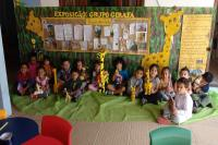 Pais e alunos escolhem nome para grupo de atividades escolares no CEI