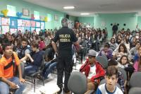 Polícia Federal realiza palestra sobre crimes cibernéticos