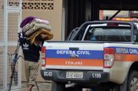 Alagamentos atingem 45 ruas na cidade de Itajaí, 145 residências permanecem em alerta