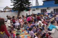 Projeto Milho ajuda crianças do CEI Lea Leal de Souza a valorizar agricultura