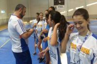 Escola Básica Maria José Hülse e  Centro Educacional Cacildo Romagnani são campeões no handebol feminino nos Jogos Escolares do Município