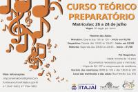 Inscrições para curso preparatório do Conservatório de Música abrem na próxima semana