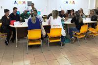 Secretaria Itinerante visita escolas do bairro Itaipava