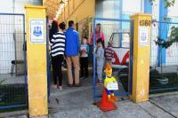 Centro de Educação Infantil faz ação no Dia do Pedestre