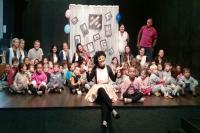"""Alunos de Centros de Educação Infantil assistem a peça """"As Memórias de Bibi"""""""