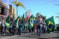 Inscrições para o desfile cívico de 7 de Setembro vão até o dia 20
