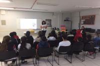 Secretaria de Saúde promove encontros de prevenção à violência doméstica nas escolas
