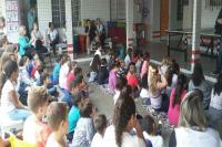 Escolas do São Vicente receberam a Secretaria Itinerante