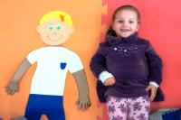 """CEI Regina Coppi cria programa """"Bonecos das diferenças"""""""
