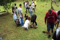 Alunos da Escola Básica João Paulo II participam de mobilização ambiental