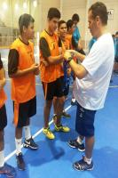 Escolas Padre Baron e Maria Hülse são campeãs no voleibol masculino nos Jogos Escolares do Município