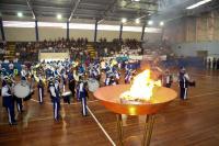 Arquibancadas lotadas e animação marcam a Abertura dos Jogos Escolares de Itajaí