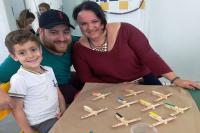 """Centro de Educação Infantil realizou o projeto """"Construindo e brincando em família"""""""