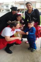 Personagens de histórias infantis recebem alunos em CEI
