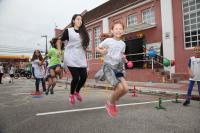 Crianças participam de evento promovido pela Biblioteca