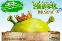 Teatro Municipal terá espetáculo musical do Shrek no Dia das Crianças