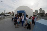 Alunos da Apae visitam a Marejada 2017