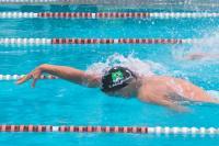 Nadador de Itajaí quebra recorde da prova mais rápida nos JASC
