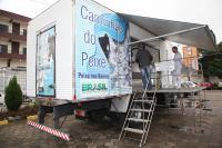 Caminhão do Peixe terá agenda modificada na próxima semana