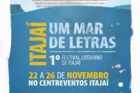 1º Festival Literário de Itajaí começa esta semana