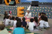 Contações de histórias são destaque no 1º Festival Literário de Itajaí