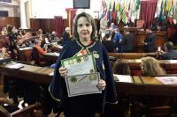 Escritora recebe homenagens no Rio de Janeiro