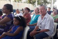 Missa em escola marca o início das comemorações do Jubileu de Ouro da Paróquia da Fazenda