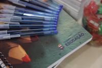 Materiais escolares serão entregues no primeiro dia de aula em Itajaí