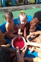 """Centro de Educação Infantil desenvolve projeto """"Sensações"""""""
