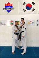 Atleta de Taekwondo representa Itajaí em campeonato europeu