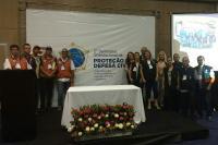 Defesa Civil e Vigilância Sanitária de Itajaí participam de Seminário Internacional