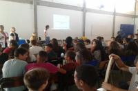Famai realiza palestra sobre a importância da água para alunos da rede municipal