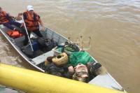 Mutirão de limpeza Juntos pelo Rio mobiliza cerca de 800 voluntários durante o sábado