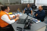Defesa Civil participa de tratativas sobre simulação de inundação