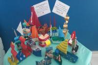 Centro de Educação Infantil entra no clima da Volvo Ocean Race