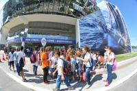 Alunos da rede municipal participam de visita guiada na Vila da Regata