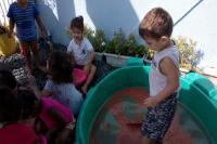 Crianças participam de projeto para ter boa convivência
