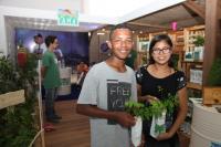 Famai promove doação de mudas na Itajaí Stopover