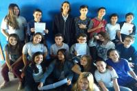 Alunos do ensino fundamental confeccionam Jornal Escolar