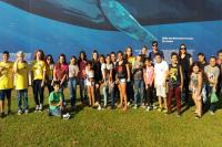 Estudantes visitam Museu Oceanográfico em Piçarras