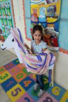 Crianças de Centro de Educação Infantil estudam animal mitológico