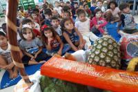 Centro de Educação Infantil faz campanha contra a obesidade