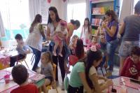 Centro de Educação Infantil promove o Dia da Família na rotina escolar