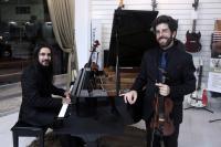 Fundação Cultural de Itajaí apoia concerto gratuito de violino e piano