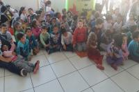 Centro de Educação Infantil promove brincadeiras durante toda a semana