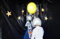 Centro de Educação Infantil monta planetário