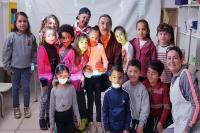Ex-goleiro do Marcílio Dias visita Centro de Educação Infantil