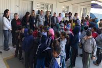 Secretaria Itinerante visita escolas do bairro São Vicente