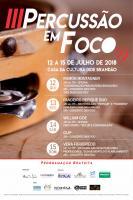 3º Percussão em Foco terá oficinas e concertos gratuitos